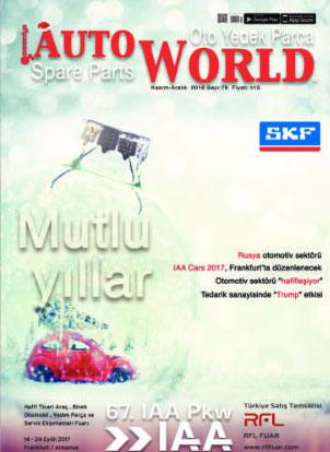 AutoWorld Eylül - Ekim 2016